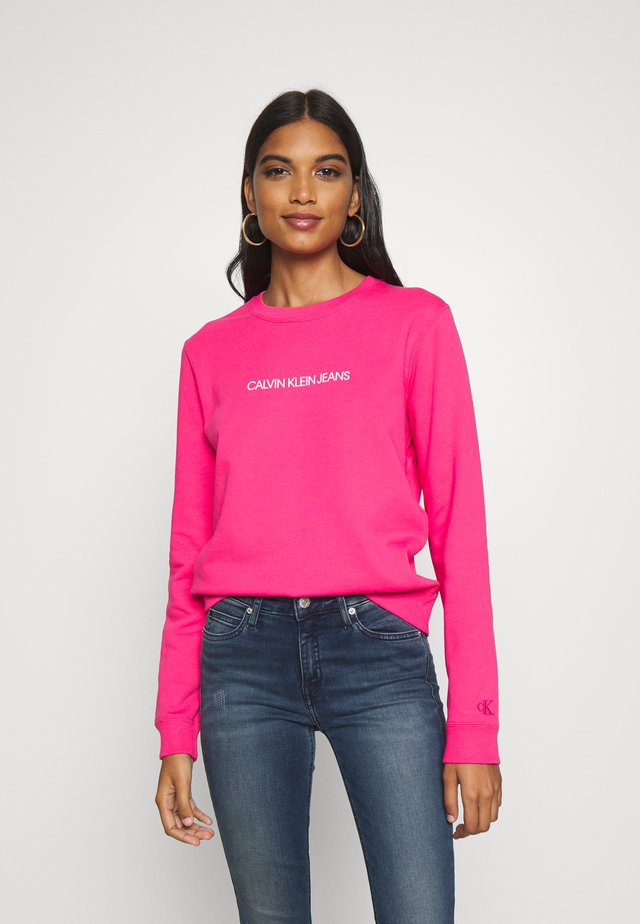 INSTITUTIONAL REGULAR CREW NECK - Sweater - raspberry sorbet