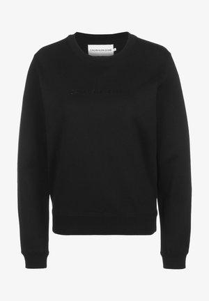 INSTITUTIONAL REGULAR CREW NECK - Sweatshirt - black