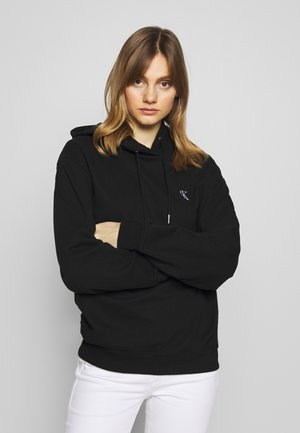 LARGE OVERSIZED HOODIE - Jersey con capucha - black