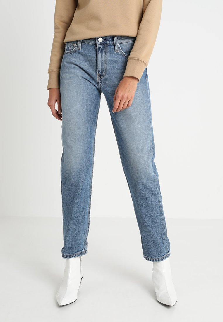 Calvin Klein Jeans - CKJ 061 MID RISE BOY  - Relaxed fit jeans - auckland blue