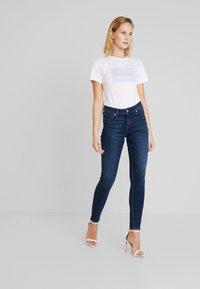 Calvin Klein Jeans - CKJ 001 SUPER SKINNY - Skinny džíny - vanern blue - 1