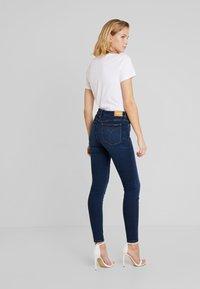 Calvin Klein Jeans - CKJ 001 SUPER SKINNY - Skinny džíny - vanern blue - 2