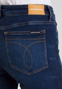 Calvin Klein Jeans - CKJ 001 SUPER SKINNY - Skinny džíny - vanern blue - 3