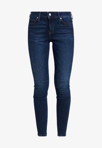 Calvin Klein Jeans - CKJ 001 SUPER SKINNY - Skinny džíny - vanern blue - 4