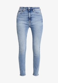 Calvin Klein Jeans - 010 HIGH RISE SKINNY ANKLE - Jeans Skinny - iconics everest stretch - 4