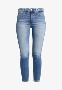 Calvin Klein Jeans - MID RISE ANKLE - Jeans Skinny Fit - saxon blue embroidery - 5