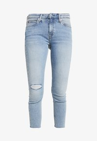 Calvin Klein Jeans - MID RISE CROP - Jeans Skinny Fit - everglades blueraw - 6