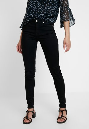 CKJ 001 SUPER SKINNY - Jeans Skinny Fit - black enzyme
