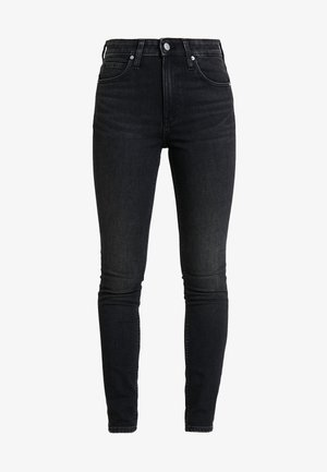 HIGH RISE SKINNY - Jeans Skinny Fit - iron horse black