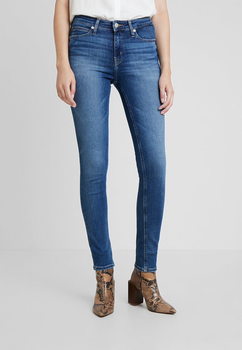 Calvin Klein Jeans - CKJ 011 MID RISE SKINNY - Jeans Skinny Fit - carthage blue