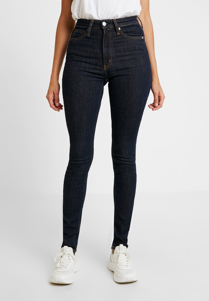 Calvin Klein Jeans - HIGH RISE - Jeans Skinny Fit - amsterdam blue rinse