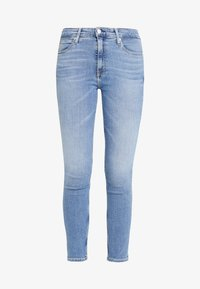 Calvin Klein Jeans - 010 HIGH RISE SKINNY ANKLE - Jeans Skinny Fit - mid blue - 4