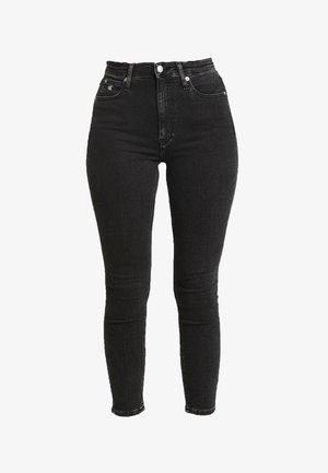 HIGH RISE - Skinny džíny - ca043 black