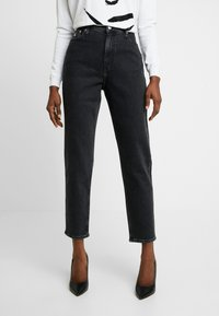 Calvin Klein Jeans - MOM - Relaxed fit jeans - black - 0
