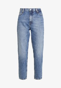 Calvin Klein Jeans - MOM JEAN - Relaxed fit jeans - ca050 mid blue - 4