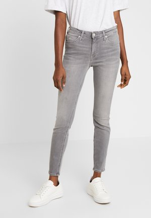 MID RISE ANKLE - Jeans Skinny Fit - grey