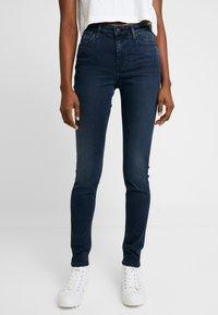 Calvin Klein Jeans - SUPER SKINNY - Jeans Skinny - blue black - 0