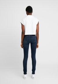 Calvin Klein Jeans - SUPER SKINNY - Jeans Skinny - blue black - 2