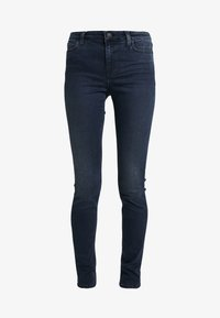 Calvin Klein Jeans - SUPER SKINNY - Jeans Skinny - blue black - 4