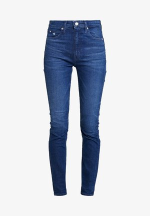 HIGH RISE SKINNY - Jeans slim fit - ca060 mid blue