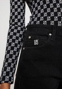 Calvin Klein Jeans - Jeans Skinny - washed black - 5