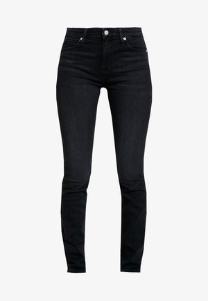 MID RISE SLIM - Slim fit jeans - black