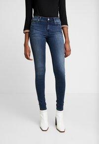 Calvin Klein Jeans - SUPER - Jeans Skinny Fit - blue black - 0
