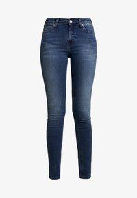 Calvin Klein Jeans - SUPER - Jeans Skinny Fit - blue black - 4