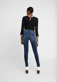 Calvin Klein Jeans - SUPER - Jeans Skinny Fit - blue black - 2