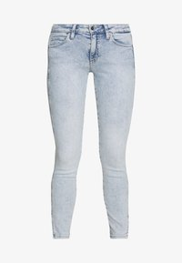Calvin Klein Jeans - MID RISE SKINNY ANKLE - Jeans Skinny Fit - bleach blue - 5