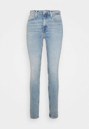 HIGH RISE SKINNY - Jeans Skinny Fit - light blue