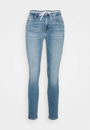 MID RISE SKINNY ANKLE - Jeans Skinny Fit - light blue