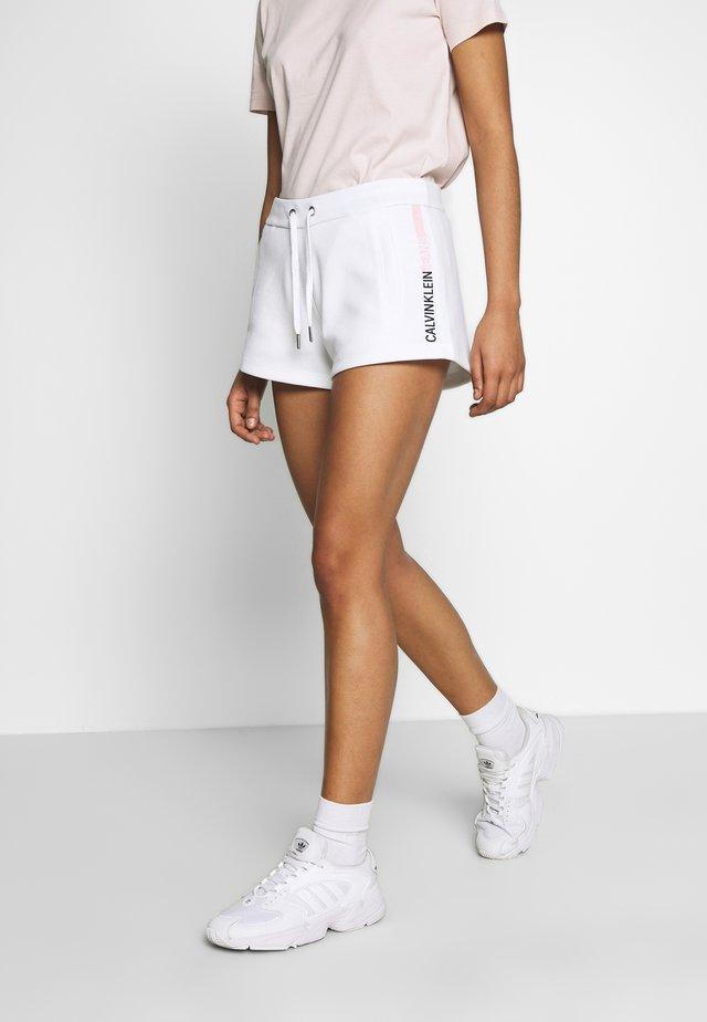 STRIPE LOGO JOGGING - Short - bright white