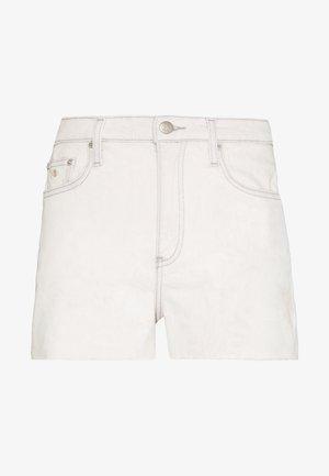 HIGH RISE SHORT - Shorts vaqueros - bleach grey