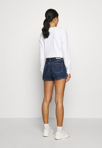 Calvin Klein Jeans - Jeans Shorts - dark blue stone shank - 2