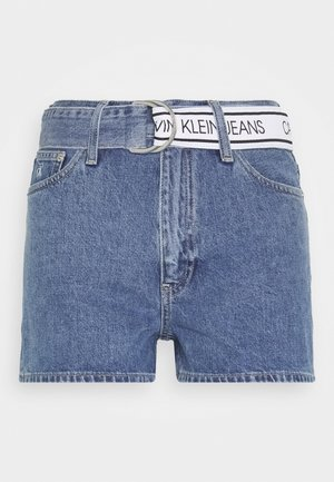 HIGH RISE - Short en jean - light blue