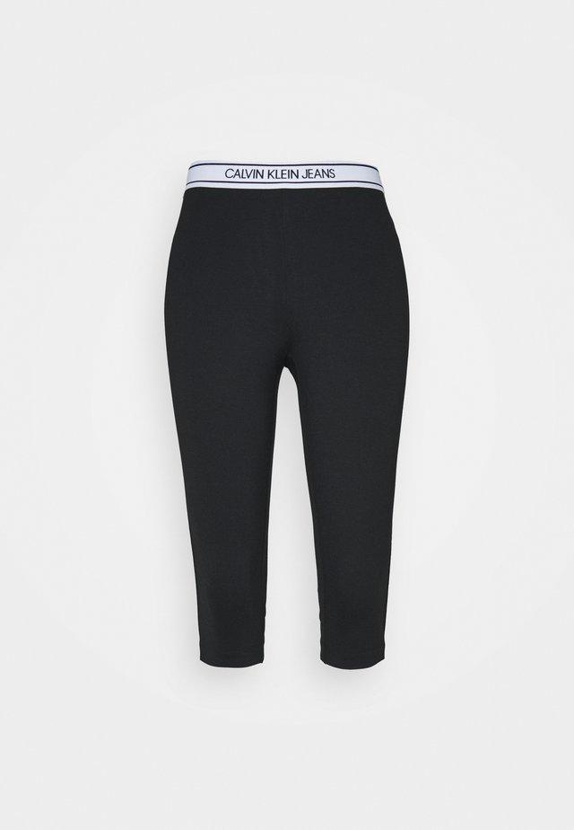 MILANO CAPRI PANT - Short - black