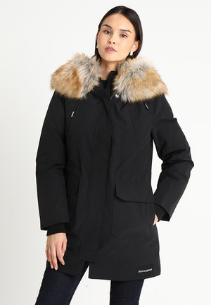 MID WEIGHT - Down coat - black