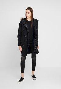 Calvin Klein Jeans - Parka - black/medieval - 1