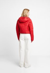 Calvin Klein Jeans - PADDED PUFFER WITH LOGO BINDING - Light jacket - barbados cherry - 2