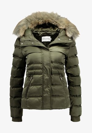 FITTED PUFFER - Down jacket - grape leaf
