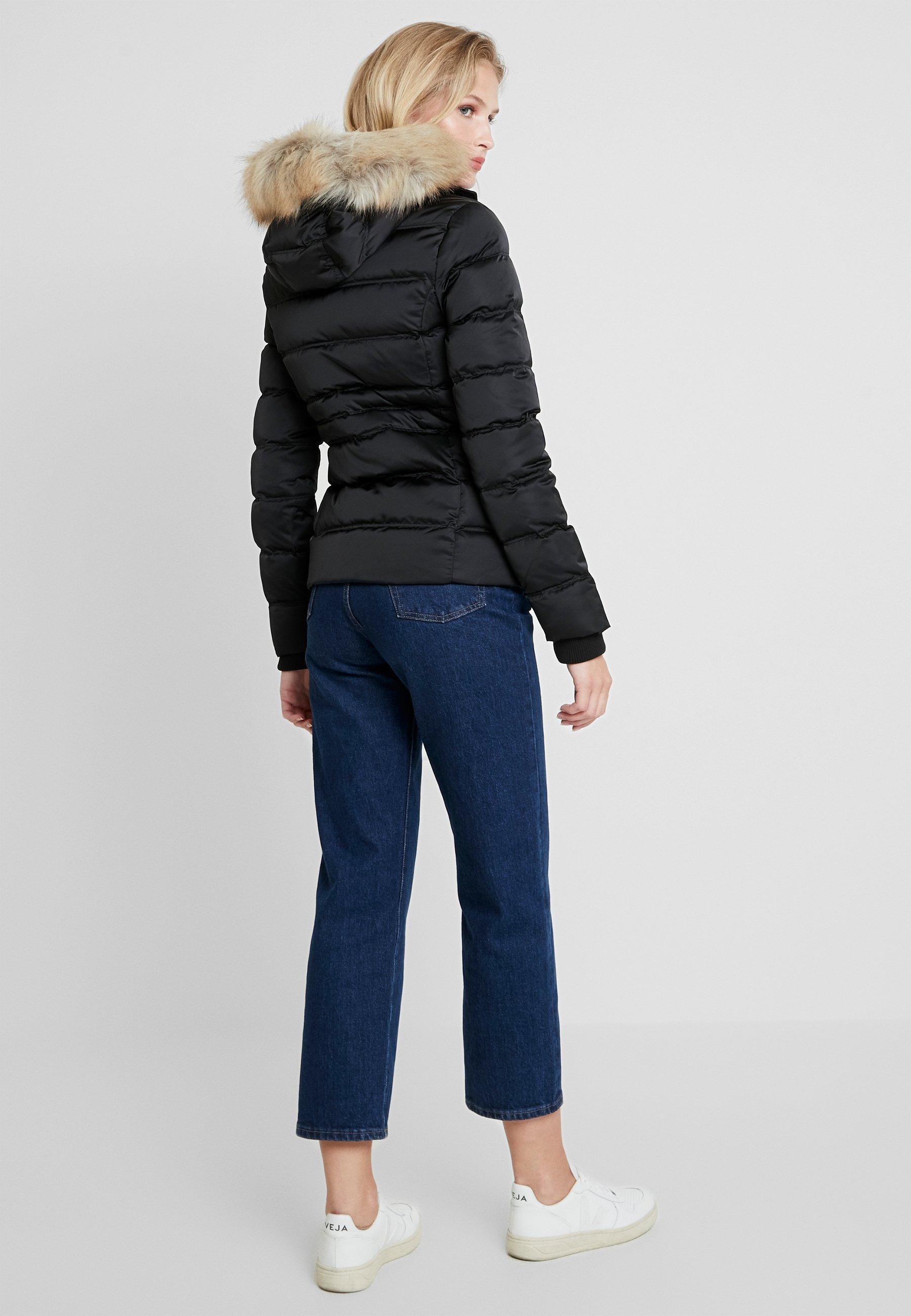 Calvin Fitted Klein PufferDoudoune Jeans Black 2IEYeWH9D
