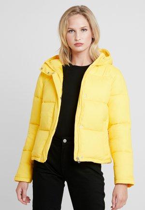 MONOGRAM TAPE PUFFER - Zimní bunda - lemon chrome