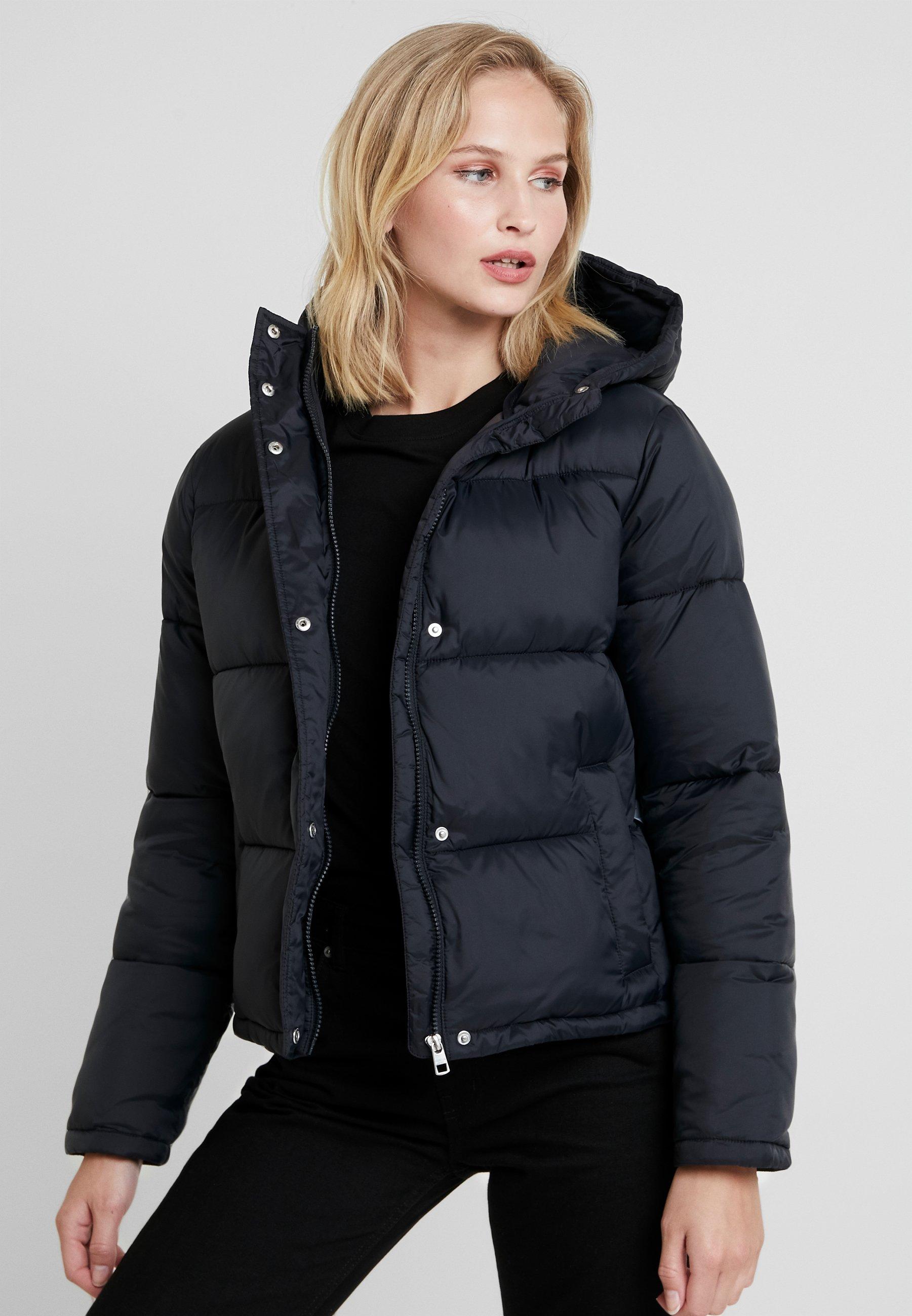 Calvin Klein Jeans MONOGRAM TAPE PUFFER - Vinterjakke - black