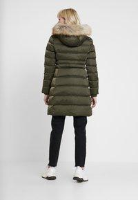 Calvin Klein Jeans - LONG PUFFER - Piumino - grape leaf - 2