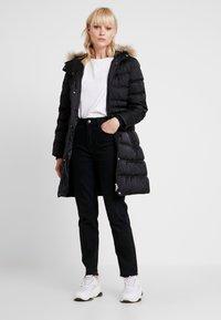 Calvin Klein Jeans - LONG PUFFER - Down coat - black - 1