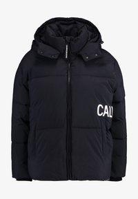 Calvin Klein Jeans - OVERSIZED LOGO PUFFER - Winter jacket - ck black - 6