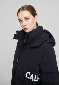 Calvin Klein Jeans - OVERSIZED LOGO PUFFER - Winter jacket - ck black - 4
