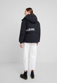 Calvin Klein Jeans - OVERSIZED LOGO PUFFER - Winter jacket - ck black - 2