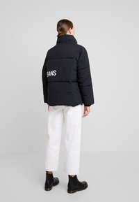 Calvin Klein Jeans - OVERSIZED LOGO PUFFER - Winter jacket - ck black - 3